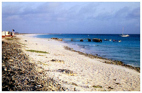 Beach of Klein Curacao